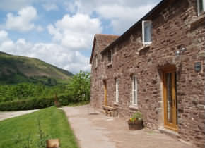 Broadley Barn Cottages, Llanthony, Near Abergavenny, Monmouthshire, Wales.