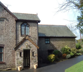 The Old Rectory, Llangattock Lingoed, Abergavenny, Monmouthshire