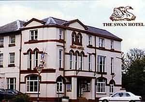 The Swan Hotel with its 11 comfortable bedrooms is situated in the market town of Abergavenny