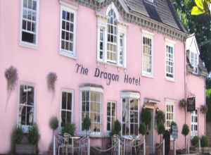 The Dragon Hotel is in a quiet position in the centre of Crickhowell. We have a pleasant courtyard and gardens where afternoon tea or evening drinks can be enjoyed.