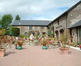 The Courtyard at The Neuadd, Beaufort Road, Llangattock, Crickhowell, Powys, Wales