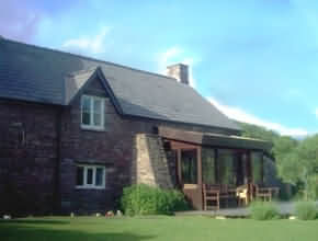self catering accommodation in historic surroundings, within the small friendly village of Llanbedr, Crickhowell, Wales, and surrounded by the beautiful scenery of the Black Mountains and Brecon Beacons National Park.