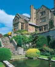 Bodysgallen Hall, one of the many Gardens to see in and around the Brecon Beacons