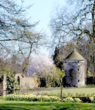 Llanover is a listed 15 acre garden and arboretum which was laid out in the eighteenth century