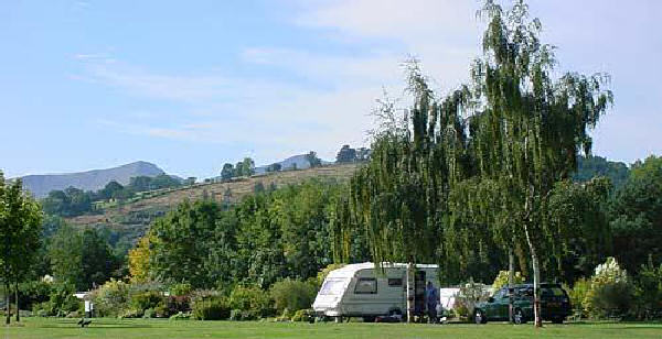 Caravaning and Camping in the Brecon Beacons