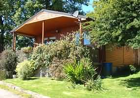 Luxuriously appointed self-catering log cabin holidays with panoramic views of the Black Mountains and Wye Valley