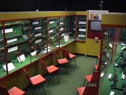 Video room at the South Wales Borderers Museum