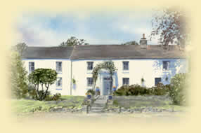 Myrtle Hill House bed and breakfast in the Brecon Beacons