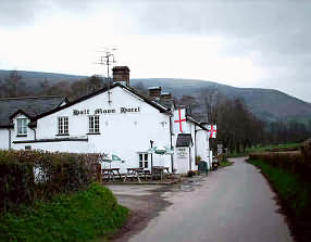 George and Suzanne offer you a warm welcome to the Halfmoon Hotel in the beautiful Llanthony Valley