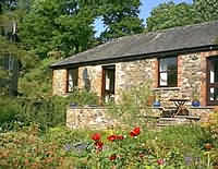 Each cottage is light and airy with south facing stone terraces and wondeful views down the Irfon Valley