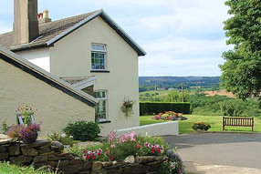 Wern Ganol Guest House, Wern Ganol Farm, Nelson, Mid Glamorgan set in its own grounds in the heart of the Welsh valleys and enjoying panoramic views of open countryside