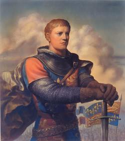 A portrait of Henry V