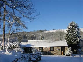Kite Cottage at Tylegarw, The Riddings, Defynnog, Brecon